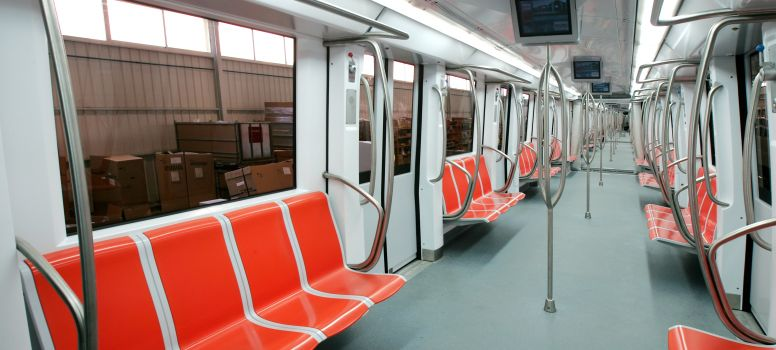 Compin seats for Metro interieur