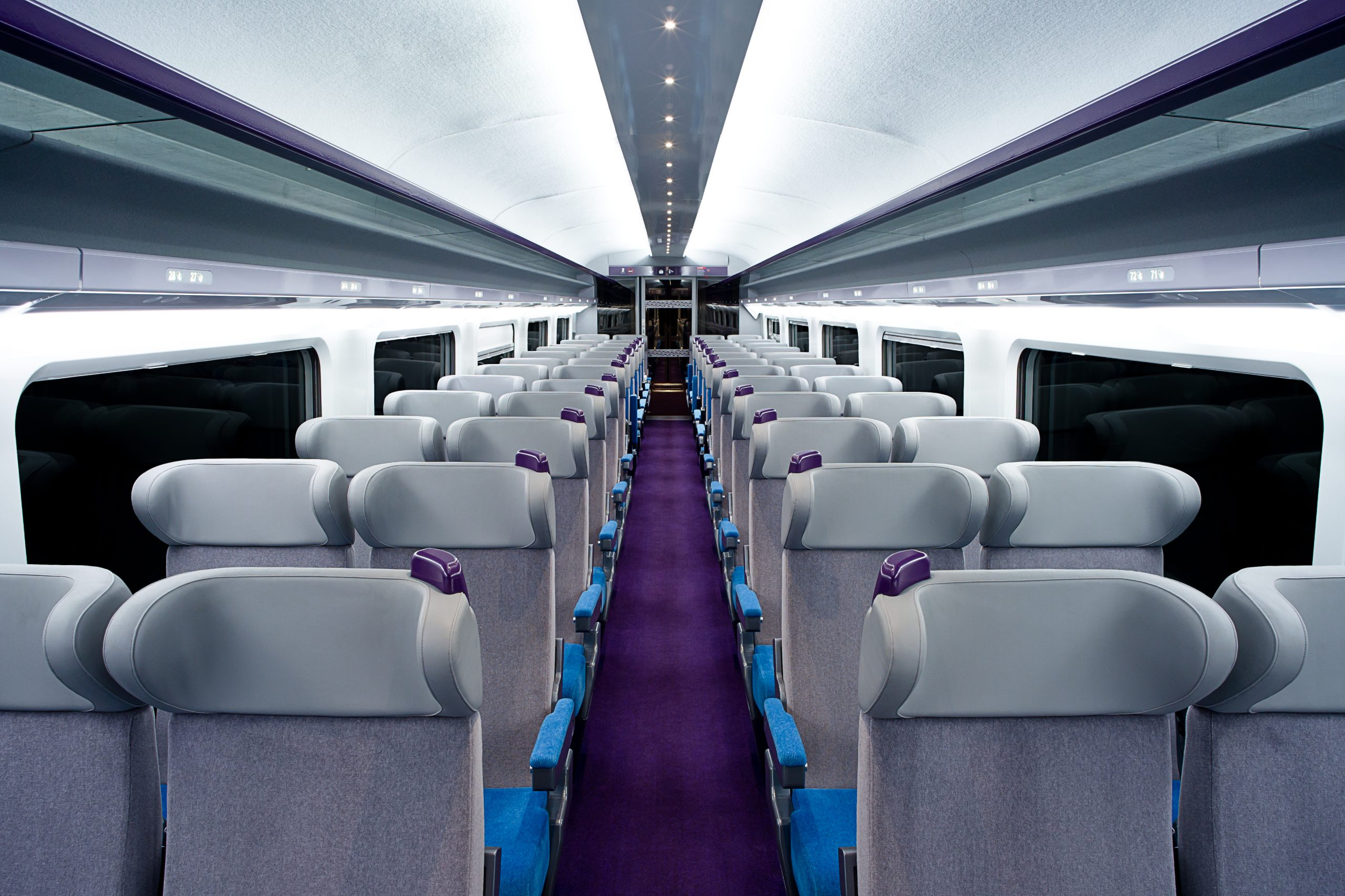 Compin high speed trains for Interieur tgv